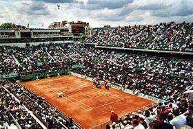 cour central de Roland Garros