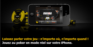 Bwin poker sur iPhone