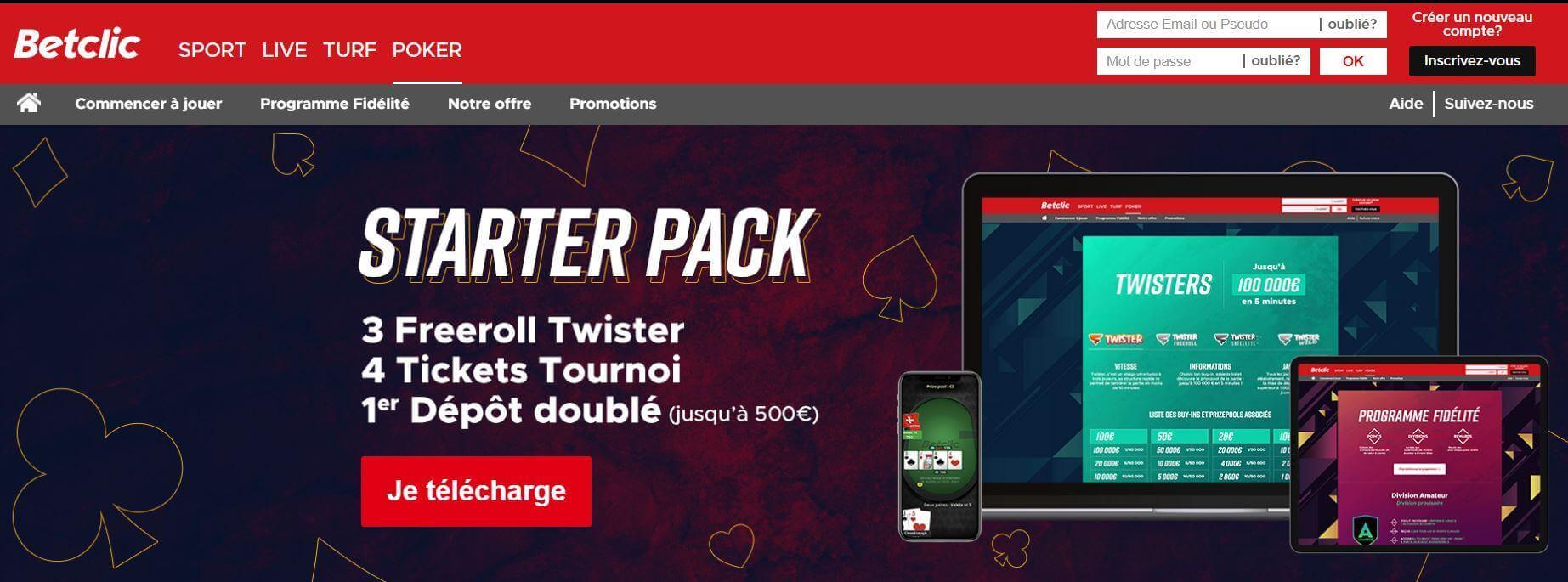 betclic poker mobile