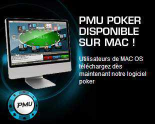 Logiciel PMU Poker Mac