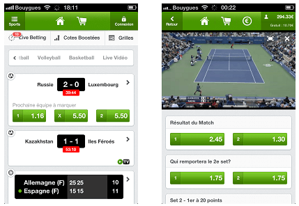 Unibet sur mobile iphone