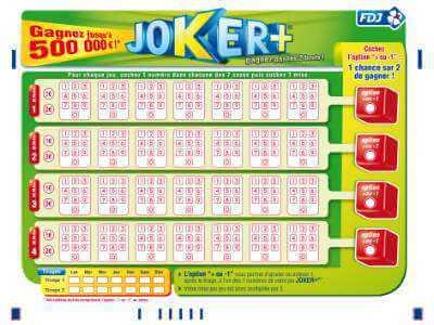 Joker keno resultat