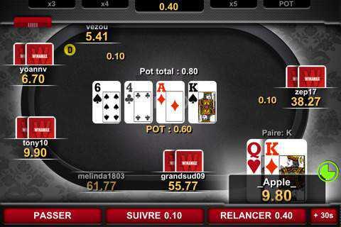 Poker en ligne avec argent reel