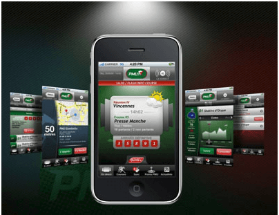 application PMU mobile