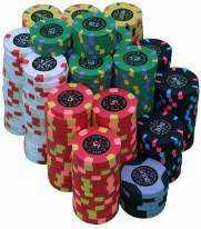 Tas de jetons de poker