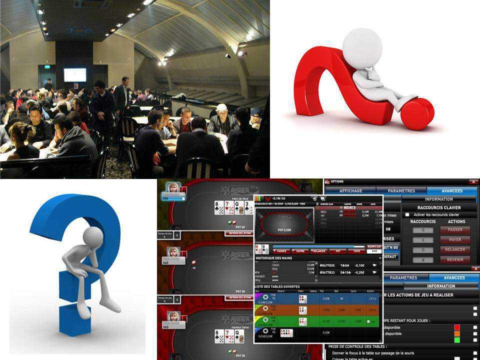 Poker en ligne ou réel ?
