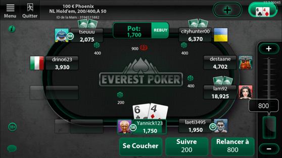 Everest sur iPhone
