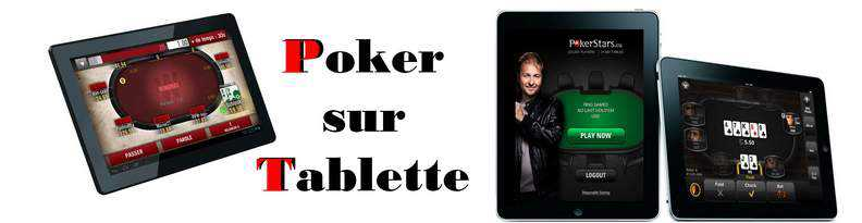 Poker sur Tablettes mobiles