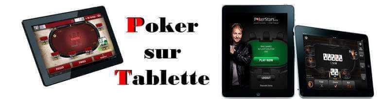 Poker sur Tablettes mobiles