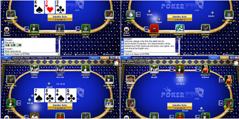 Multitabling Poker770
