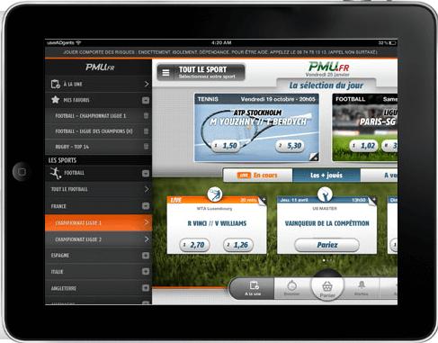 PMU Sport iPad