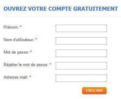 Inscription sur TheLotter