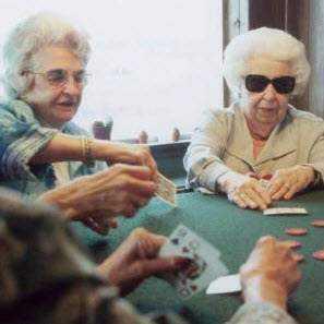 Le poker pratiqué comme passe-temps !