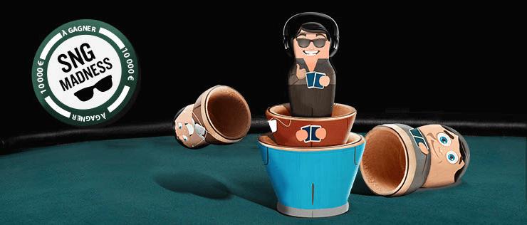 Opération SNG Madness d'Everest Poker