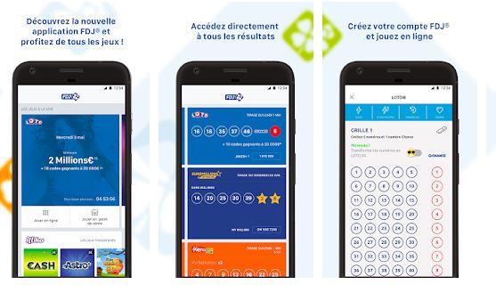 fdj appli mobile