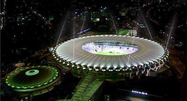 le mythique stade du Maracana de Rio de Janeiro, où se déroulera la finale de la Coupe du Monde 2014