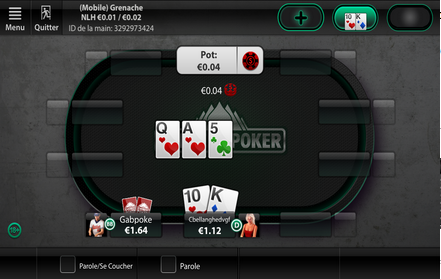 Cash Game sur Everest Poker