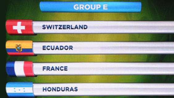 groupe de la France CDM 2014