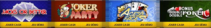 video poker palladium games