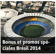 Bonus, offres et codes promos pour la Coupe du Monde 2014