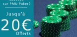 Codes promotionnels PMU 2016 (Paris, Turf, Poker) : Utilisez PMUPO…