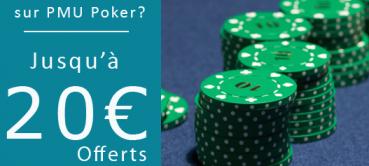 Codes promotionnels PMU 2016 (Paris, Turf, Poker)
