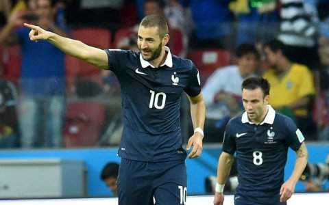 Karim Benzema Suisse - France