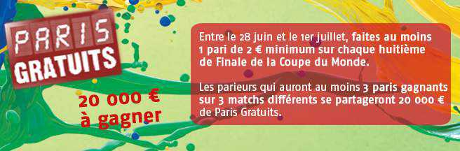 promotion PMU pour gagner 20 000 euros