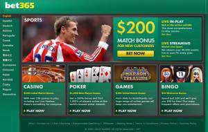 Bonus Bet365 200 £