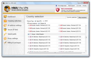 Logiciel VPN HMA!