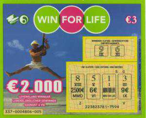 win for life loterie