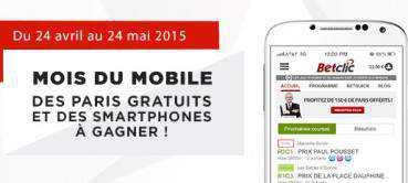Mois du mobile sur Betclic Turf : des smartphones et des bonus à gagner