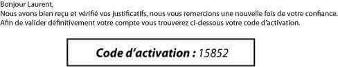 Code d'activation Betclic