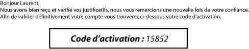 Code d'activation Betclic