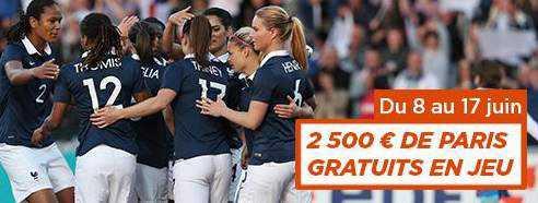 Coupe du monde féminine sur PMU