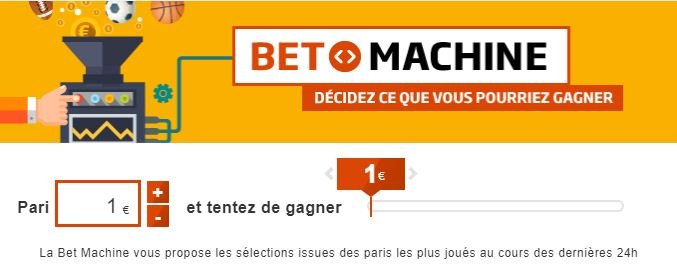 pmu bet machine