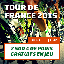 Tour de France - promotion PMU.fr