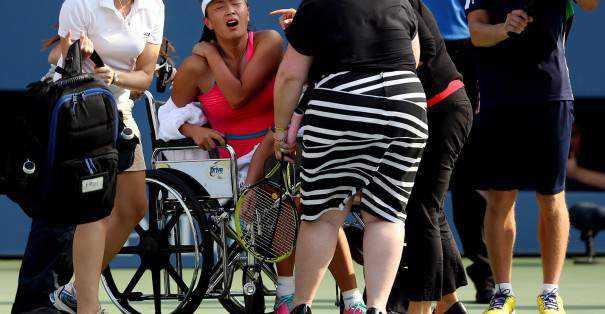 abandon au tennis