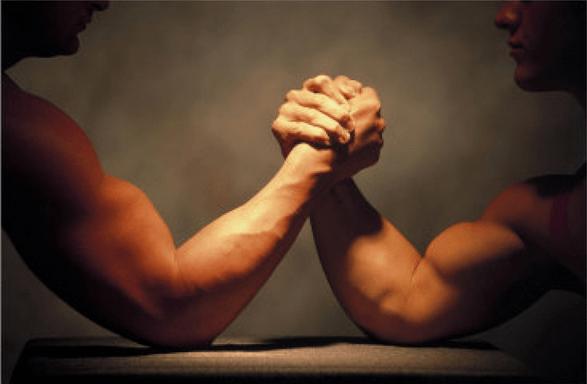 bras de fer