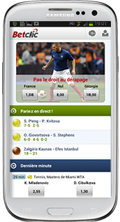 Betclic appli mobile sport