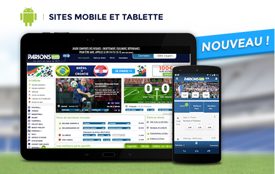 site mobile parions web2