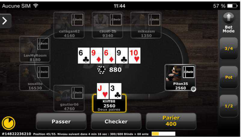 Bwin poker 1