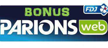 Bonus ParionsWeb : termes et conditions