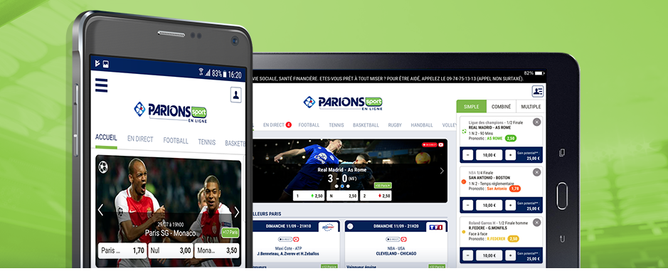 appli parions sport en ligne