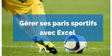 Excel paris sportifs