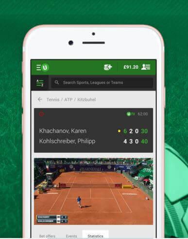 unibet tv app