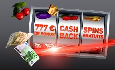 bonus bienvenue casino 777