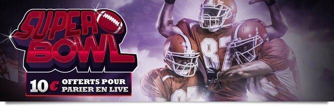 Promo Super Bowl Winamax