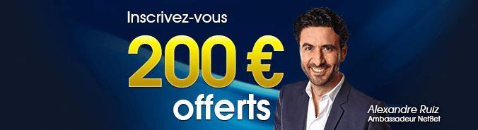 bonus netbet 200 euros