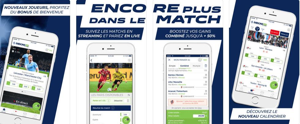 Mobile app Parions Sport